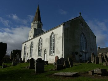 White Church Comrie Scotland
