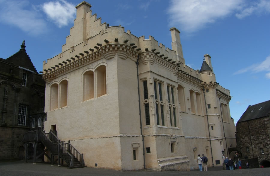 Stirling castle on a tour of scotland for Home styles com