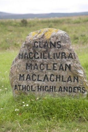 Clan Headstone Culloden Photograph Scotland
