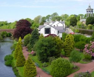 Gardens by the River Doon Alloway Scotland