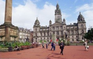 George Square Glasgow Photograph