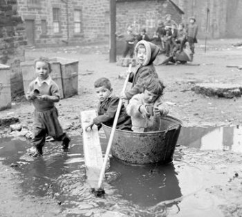 Housing Slums Gorbals Glasgow Scotland