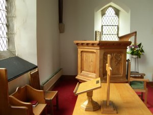 Interior Of Balquhidder Parish Church Scotland