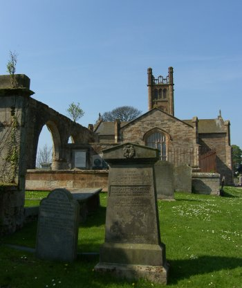 Kilconquhar Parish Graveyard Scotland