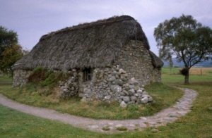 Leanach Cottage Culloden Photograph Scotland