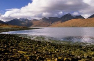 Loch Hainort Red Cuillins Isle of Skye Photograph