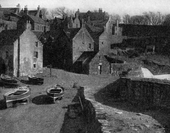Old Harbour Crail Fife Scotland