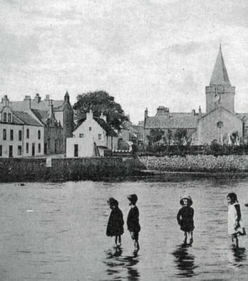 Old Photograph Dreel Burn Anstruther