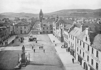 Old Photograph Huntly Scotland