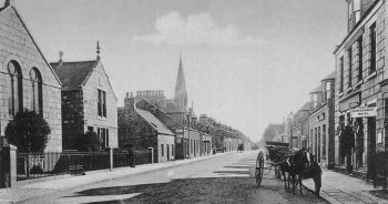 Old Photograph Inverurie Scotland