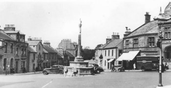 Old Photograph Melrose Scotland
