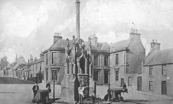 Old Photograph of Cullen Cross Scotland