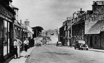 Old Photograph of Cullen Scotland