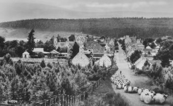 Old Photograph of Tomintoul Scotland
