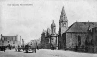 Old photograph Fraserburgh Scotland