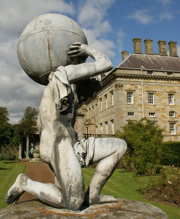 Photograph Atlas Sculpture Kinross House Scotland