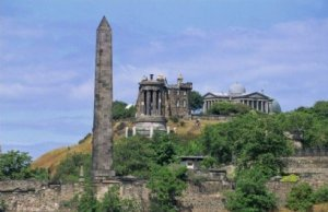 Photograph Calton Hill Edinburgh Scotland
