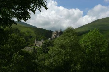 Photograph Castle Campbell Dollar Glen Scotland