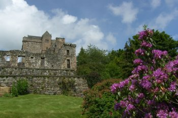 Photograph Castle Campbell Scotland