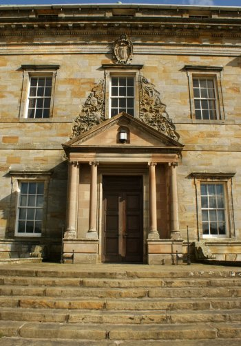 Photograph Front Door Kinross House Scotland