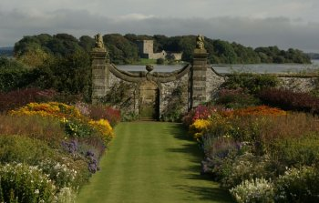 Photograph Gardens Kinross House Scotland