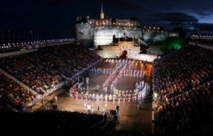 Photograph Military Tattoo Edinburgh Scotland