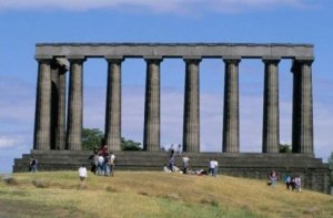 Photograph National Monument Calton Hill Edinburgh Scotland
