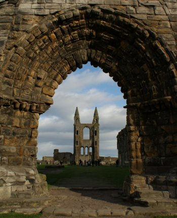 Photograph St Andrews Cathedral Scotland