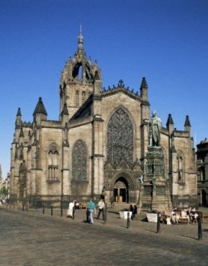 Photograph St Giles Cathedral Edinburgh Scotland