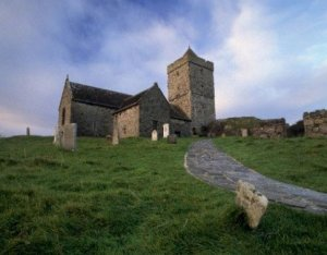 Photograph St. Clements Church Isle of Harris Scotland
