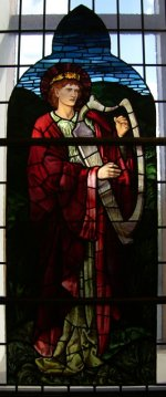 Photograph Stained Glass St Mungo Museum Glasgow Scotland