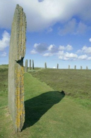 Ring of Brodgar Photograph Orkney Islands Scotland