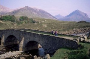 Sligachan Bridge Isle of Skye Photograph