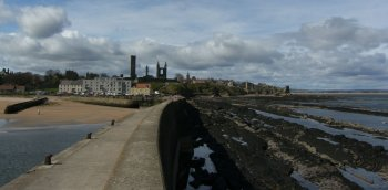 St Andrews Harbour Panorama