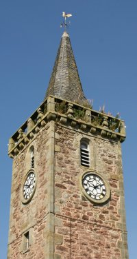 Town Hall Steeple Kinross Scotland