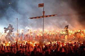 Up Helly Aa Photograph