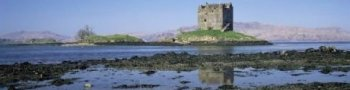 Castle Stalker near Port Appin Scotland