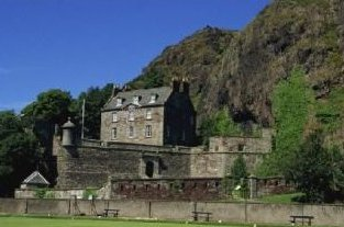 Dumbarton Castle Scotland