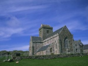 Island of Iona Abbey Scotland Photograph