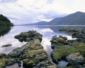 Loch Linnhe towards Corran Scotland