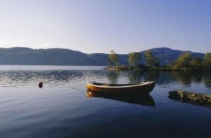 Loch Ness and Boat Scotland