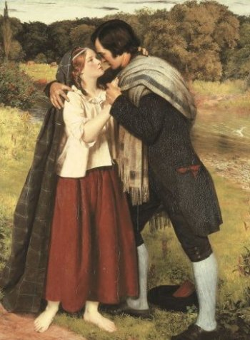 The Betrothal Of Robert Burns And Highland Mary