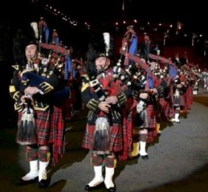 The Edinburgh Military Tattoo Scotland