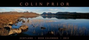 Scotland Panoramic Desk Calendar 2012
