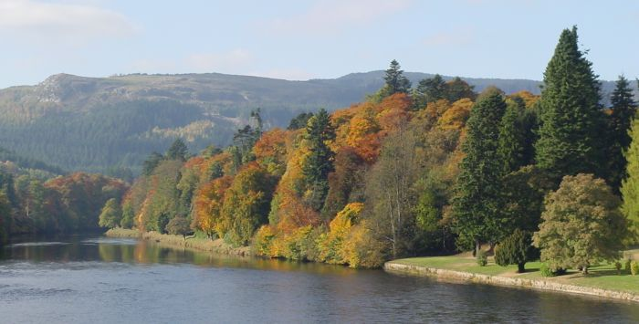Perthshire Autumn Colours at Dunkeld